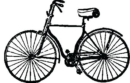 436x277 Bicycle Drawing Red Old School Piagets Test Themindfuljourney
