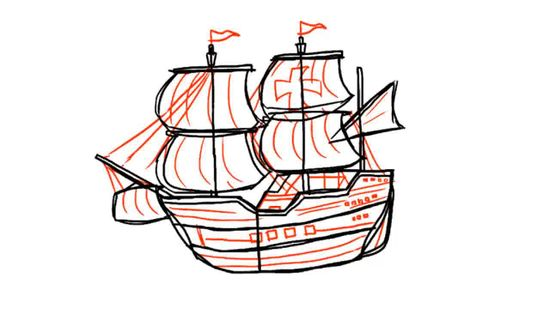550x309 How To Draw A Ship