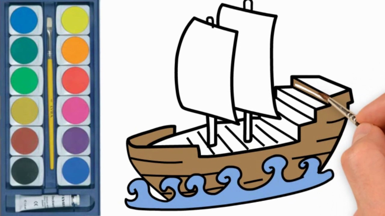 1280x720 How To Draw Ship