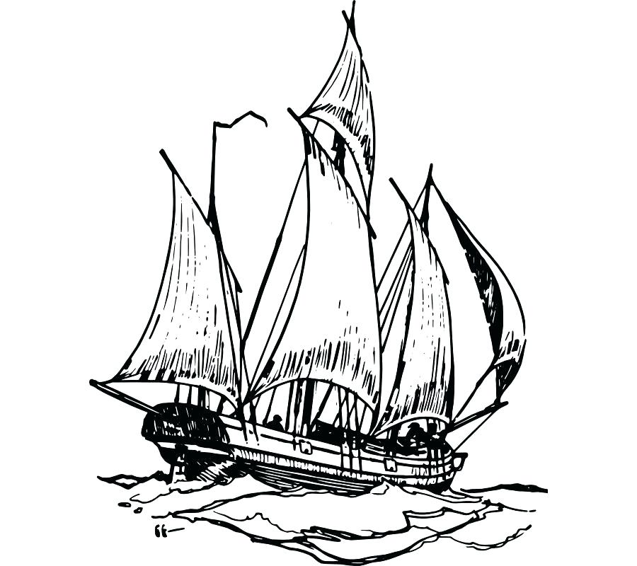 900x800 Sailing Ship Clip Art Mayflower Old Sundogger