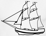 190x151 Sail Sailing Ship Old Ship Men's T Shirt Spreadshirt