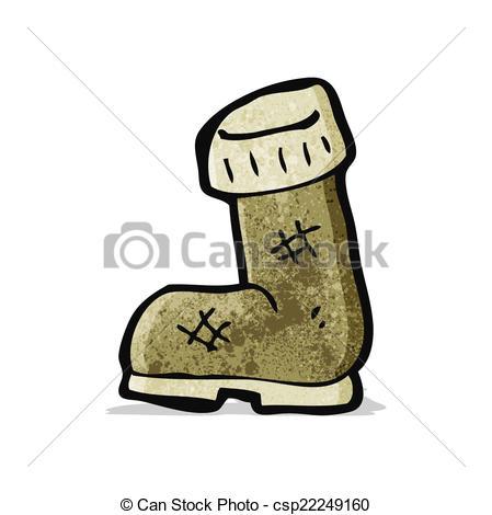 449x470 Cartoon Old Boot