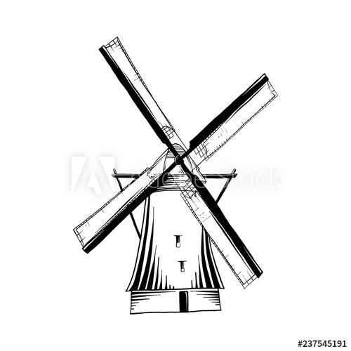 500x500 Vector Engraved Style Illustration For Posters, Logo, Emblem