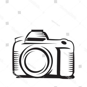 300x300 Old Camera Vector Drawing Vintage Century Geekchicpro