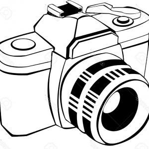 300x300 Old Camera Vector Drawing Vintage Century Soidergi