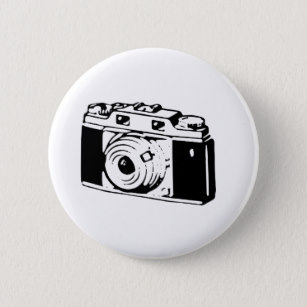 307x307 Vintage Camera Drawing Accessories Zazzle