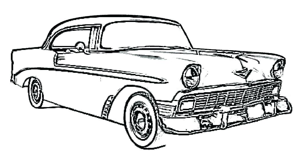 1056x550 Classic Cars Coloring Pages Free Car Coloring Pages To Print