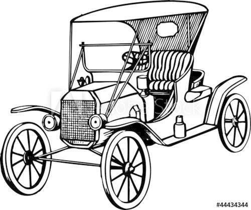 500x420 Old Car