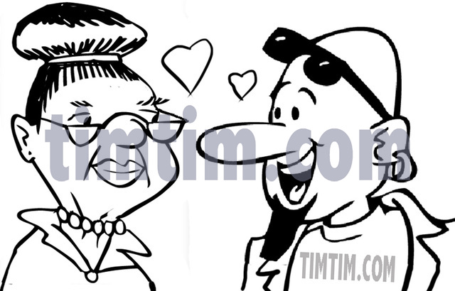 640x410 Free Drawing Of An Old Date Bw From The Category Dating Love
