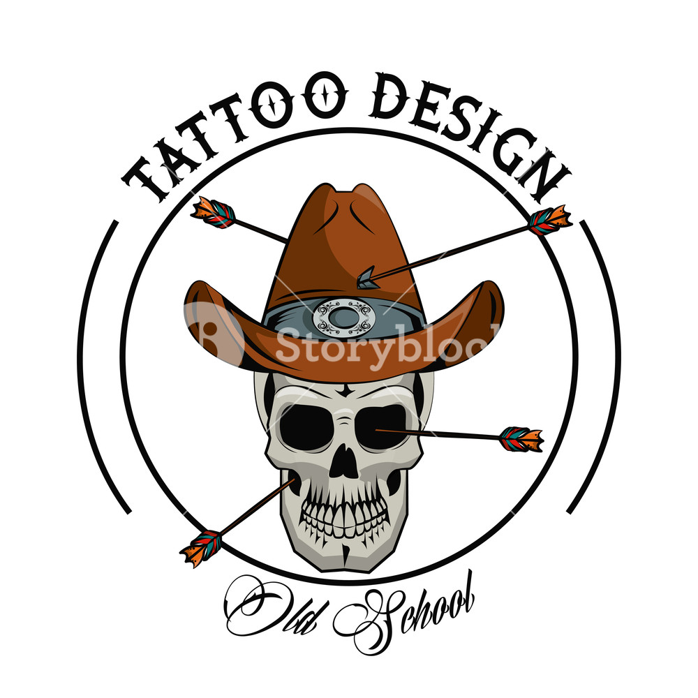 1000x1000 Tattoo Design With Old School Drawings Vector Illustration Graphic