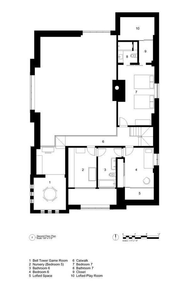 600x927 City Church Conversion Spaces Homes Church Conversions