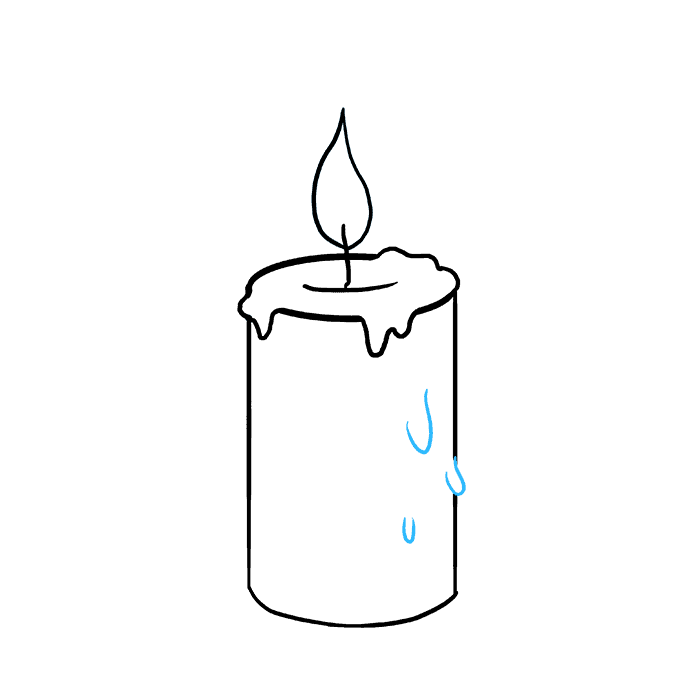 680x678 How To Draw A Candle