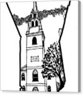 163x186 Old North Church Poster