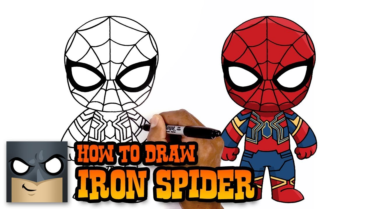 1280x720 Infinity War How To Draw Iron Spider