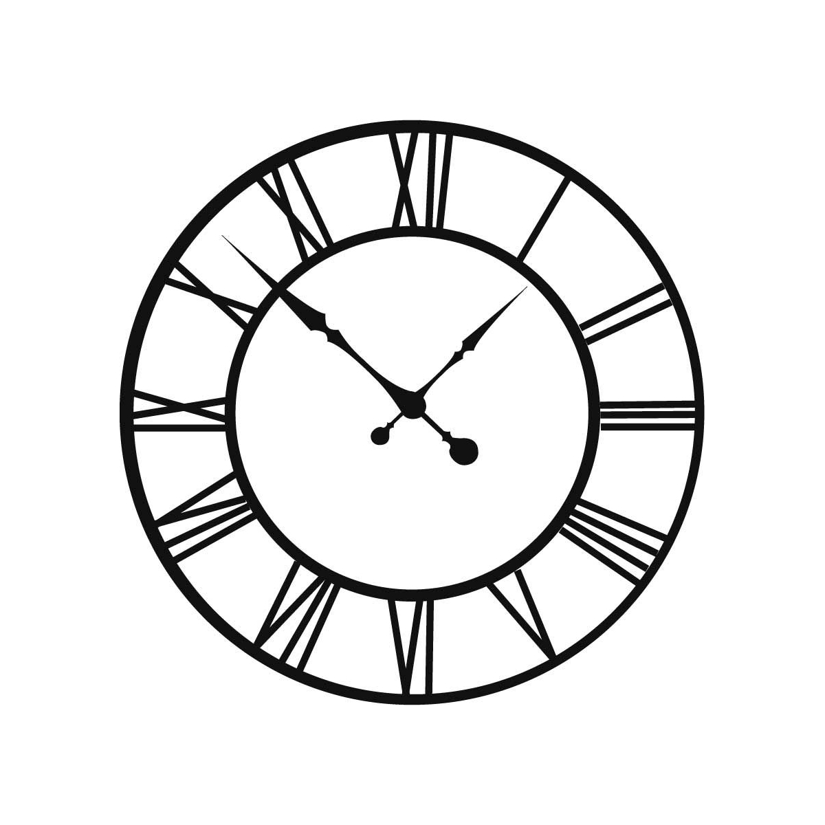 Old Clock Drawing