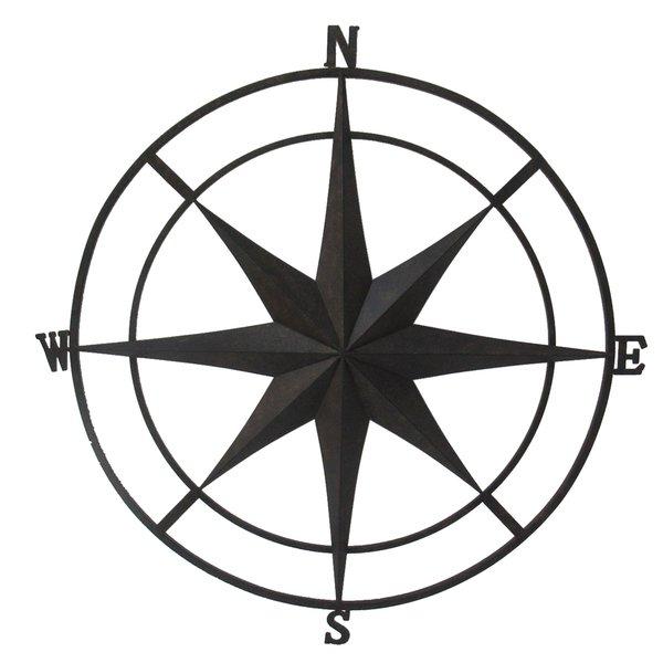 600x600 Compass Art Wayfair