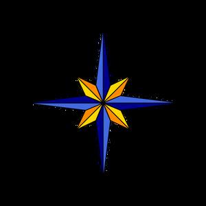 300x300 Free Compass Vector Art