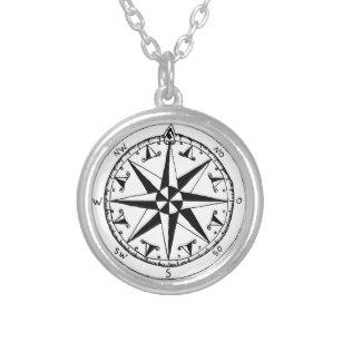 307x307 Vintage Compass Necklaces Lockets Zazzle