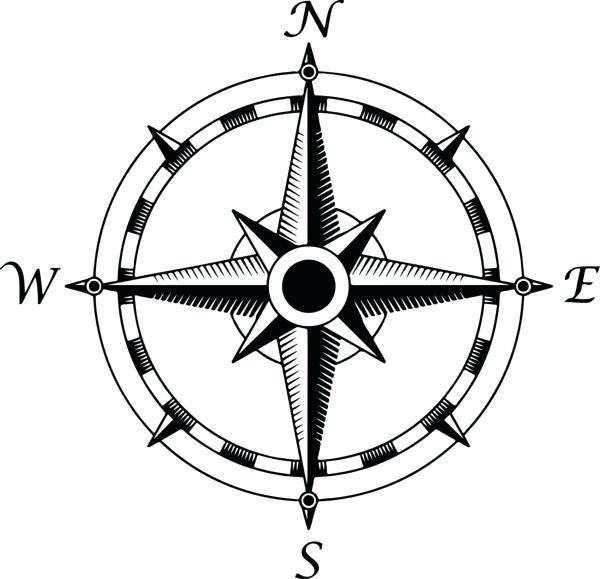 600x579 Nautical Compass Joakimskoog