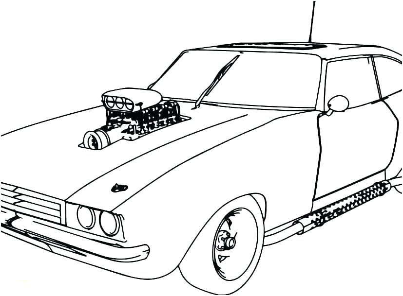 827x609 Classic Cars Coloring Pages Free Car Coloring Pages To Print