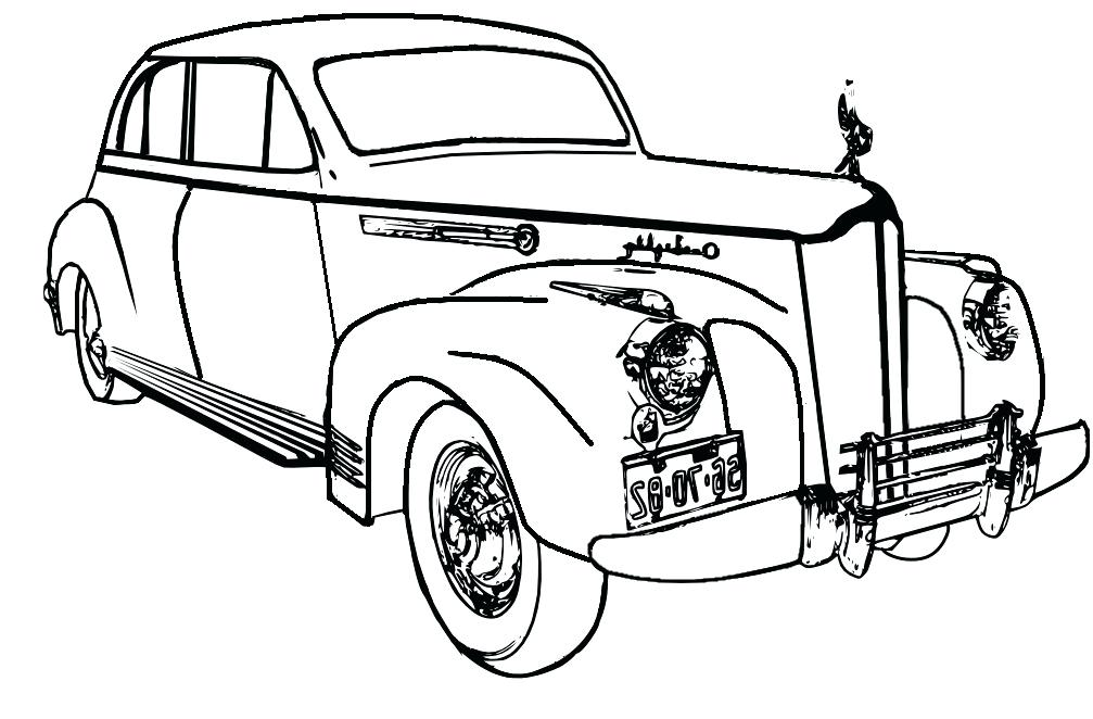 1007x662 Cool Car Coloring Pages For Adults Simple Pdf C Printable Images