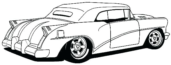 600x229 Ideas Collection Old Cars Coloring Pages Muscle Car Coloring Pages