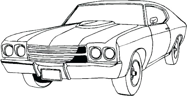 600x308 Vintage Car Coloring Pages Comfy Classic Cars Pertaining