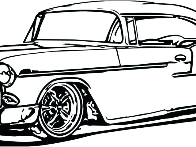 640x480 Vintage Car Coloring Pages Printable Car Classic Car Coloring