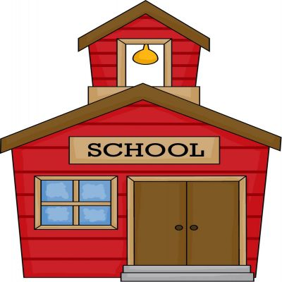 400x400 old school house clip art school house drawing