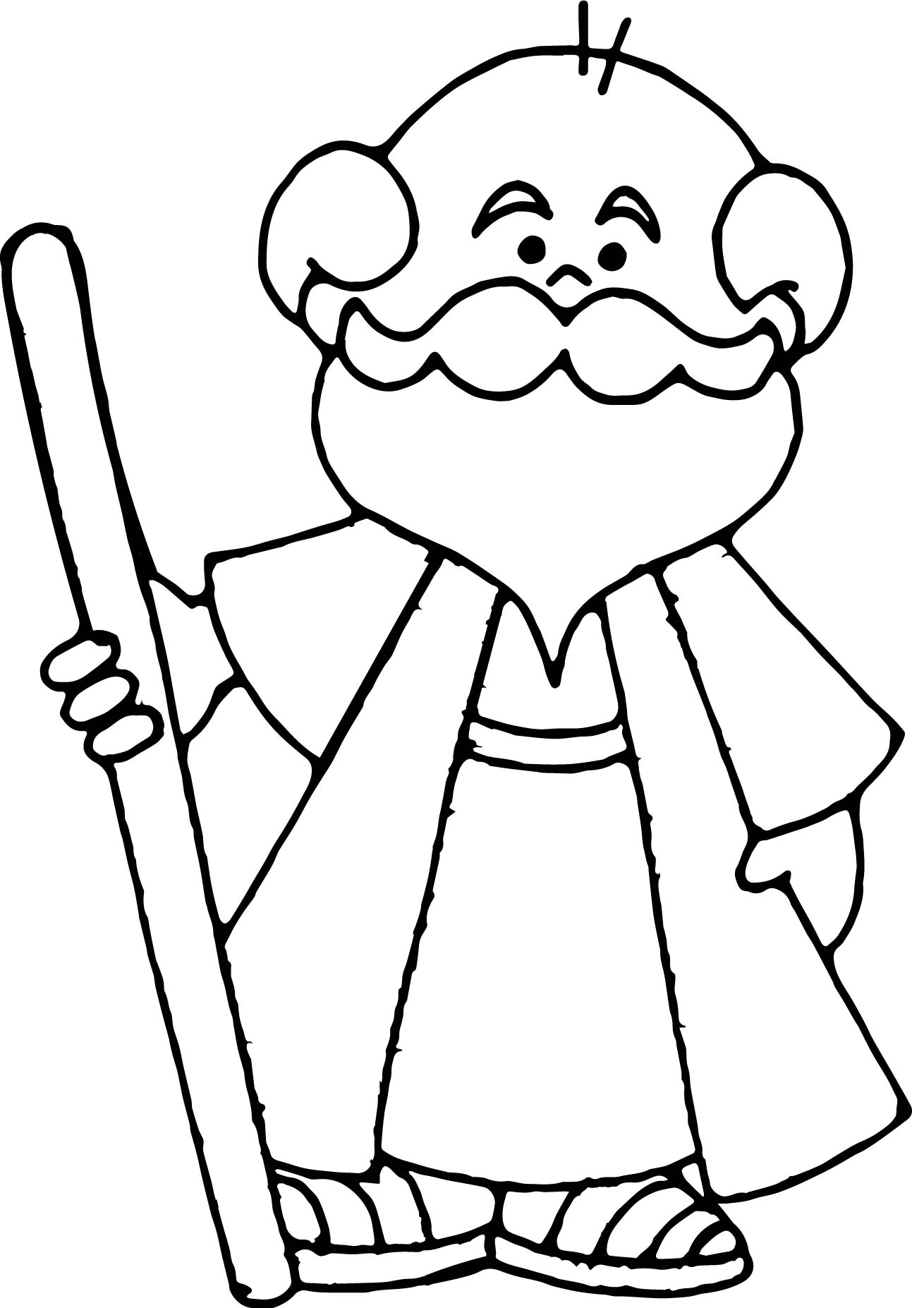 1293x1854 old man coloring pages, free clipart old man birthday