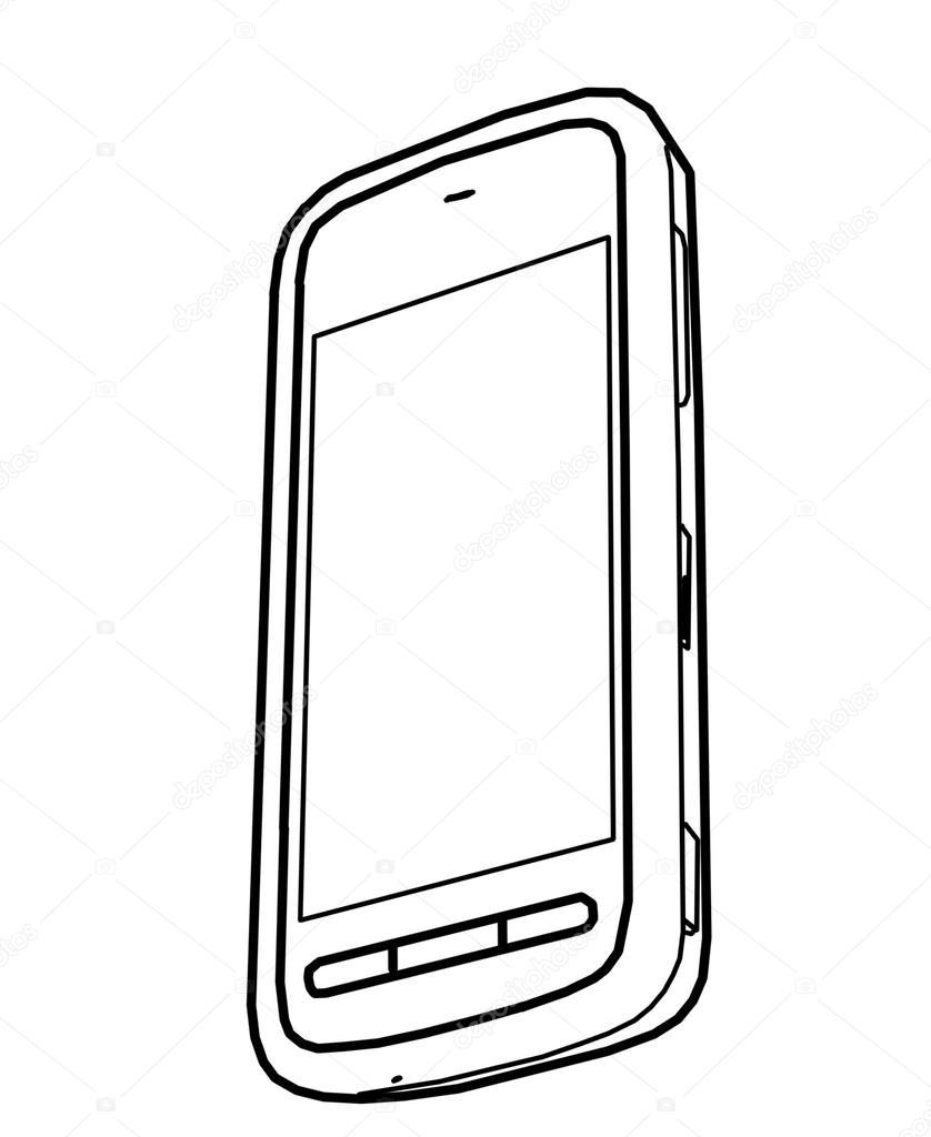 838x1024 Phone Drawing Free Download