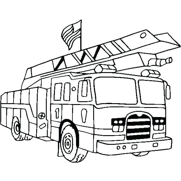 600x600 old fire truck coloring pages cool fire trucks video fire truck