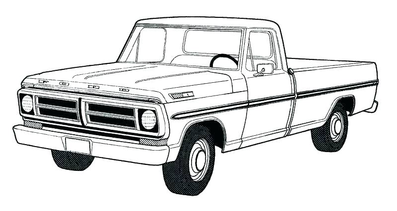 800x426 old truck coloring pages truck color pages old truck coloring