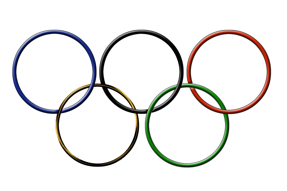 Olympic Rings Drawing