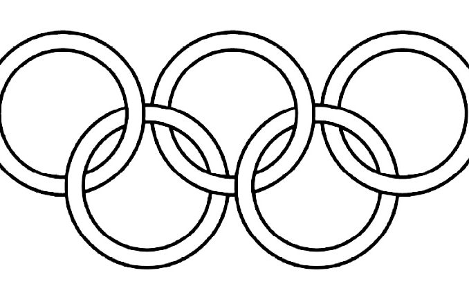 Collection Of Olympic Rings Clipart
