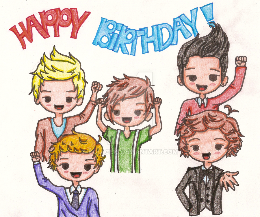 900x749 One Direction Birthday
