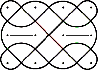 354x238 An Example Of A One Line Drawing Using Celtic Walls These Walls