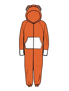 228x300 Collection Of Free Orange Clipart Onesie Amusement Clipart