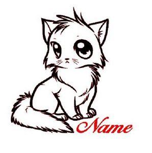 298x300 Glitter Kitty Personalized Infant Onesie