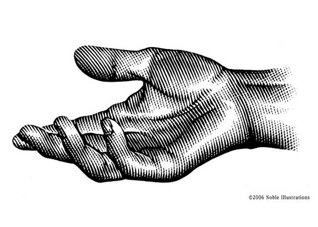 640x457 open hand tattoos in hand drawing reference, hand