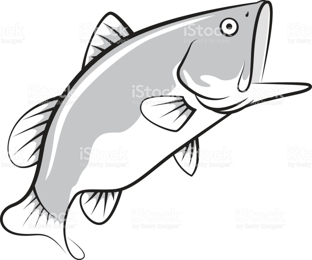 1024x853 Open Mouth Fish Clipart