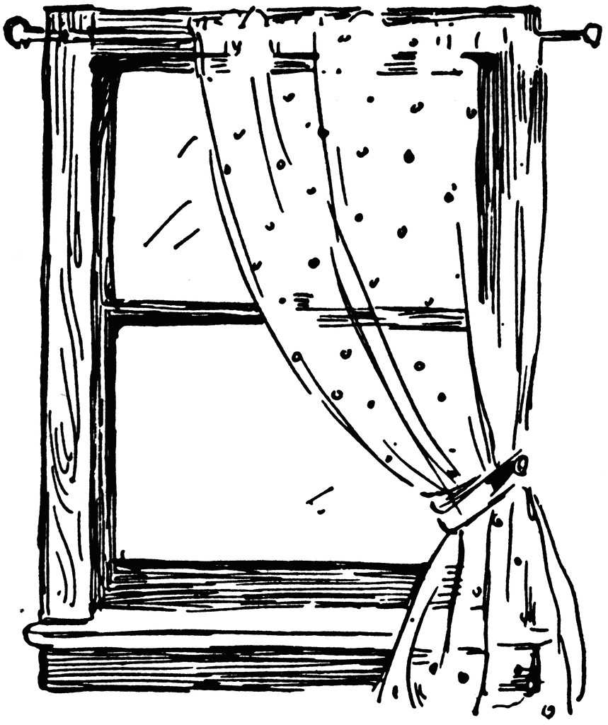 859x1024 Window Clip Art
