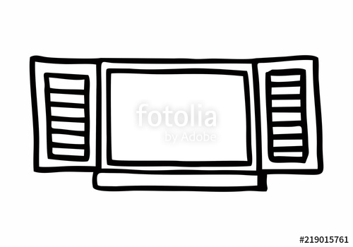 500x350 Open Window Illustration Stock Image And Royalty Free Vector