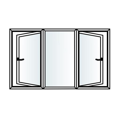 500x500 Promiplast Inventa Casement Style Upvc Doors Overview