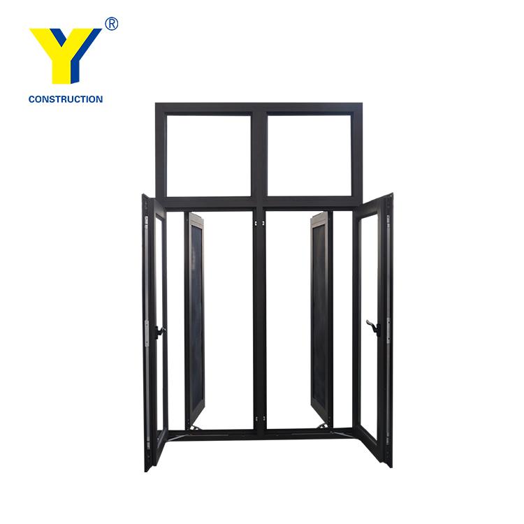 750x750 Waterproof Aluminium Open Outside Casement Window Drawing