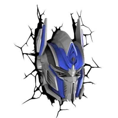 Optimus Prime Face Drawing