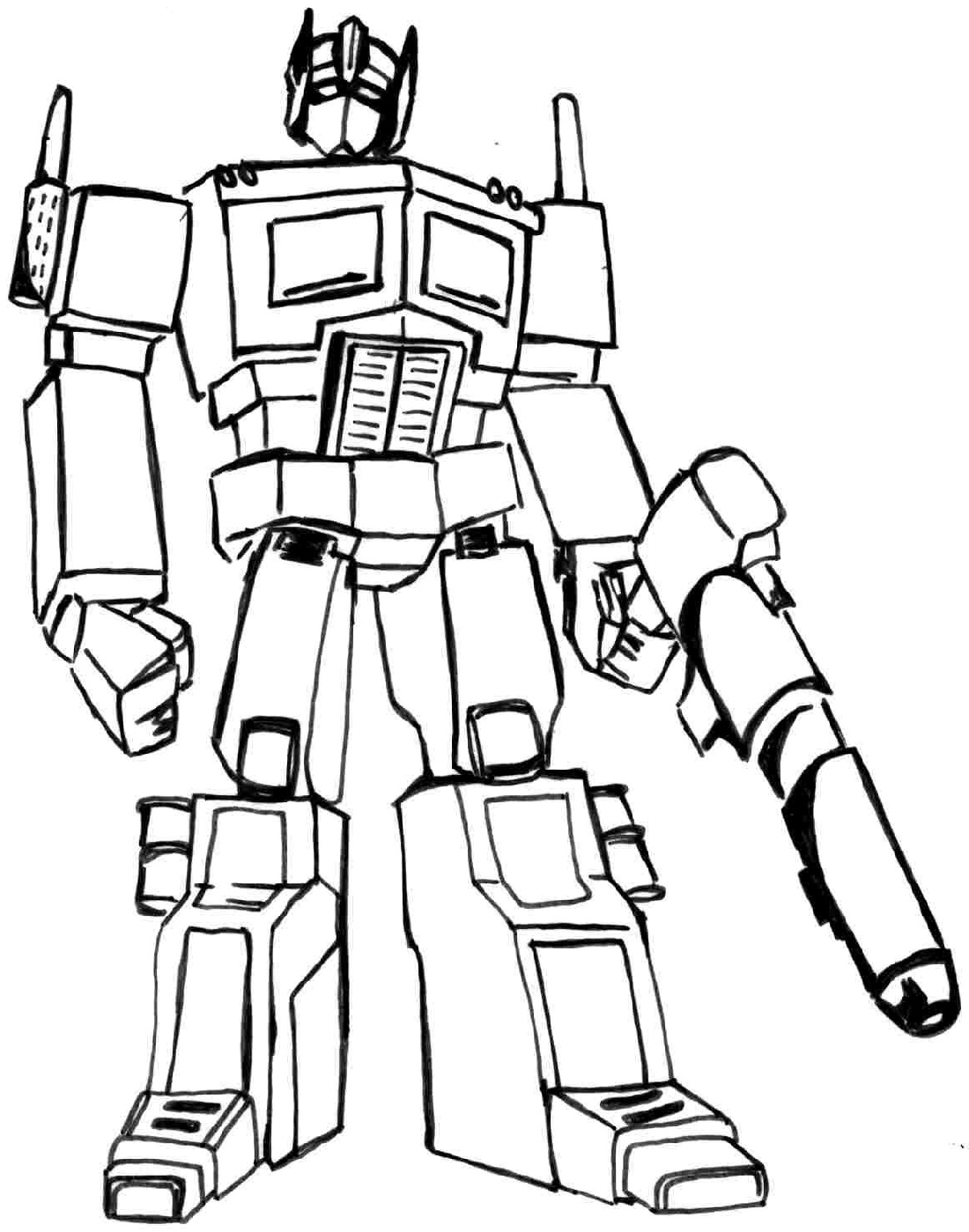 Optimus Prime Face Drawing Free Download Best Optimus Prime Face