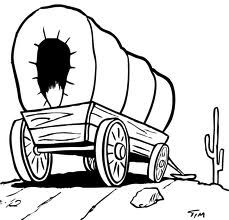 229x220 How To Draw A Covered Wagon Step