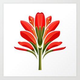 264x264 State Flower Art Prints