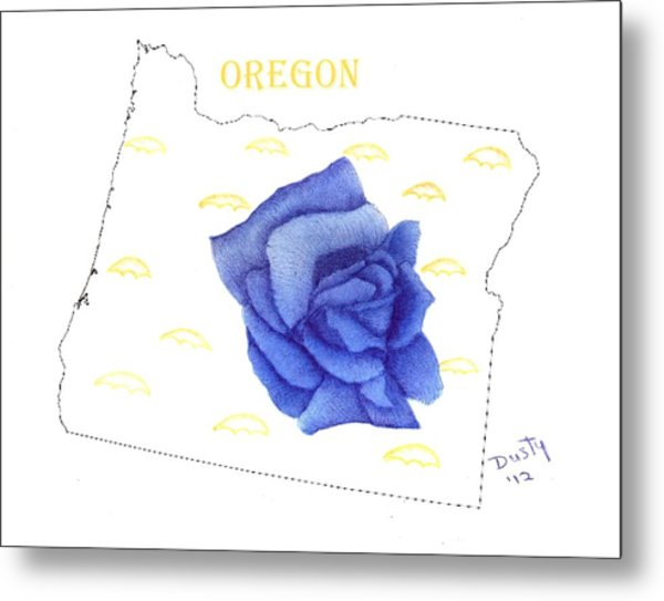 600x543 State Of Oregon Drawing
